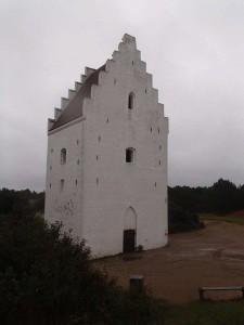 Den tilsandede kirke Skagen