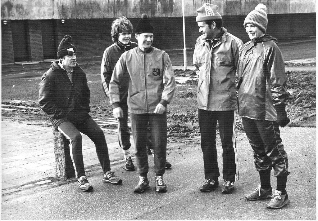 Poul, Anette, Bent, Kristian, Asta 1986