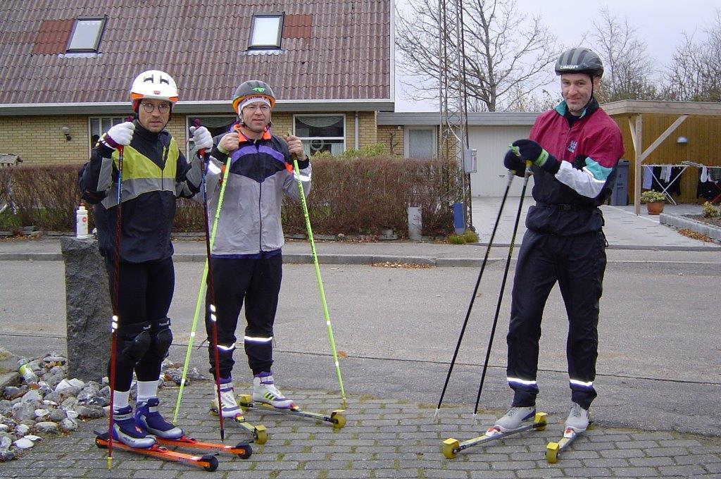 """Søren, Ib og Stig klar til at """"rulle"""""""