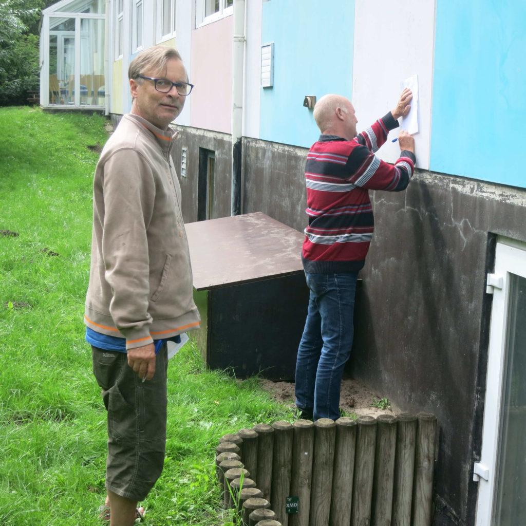 Henrik og makker fandt trappen