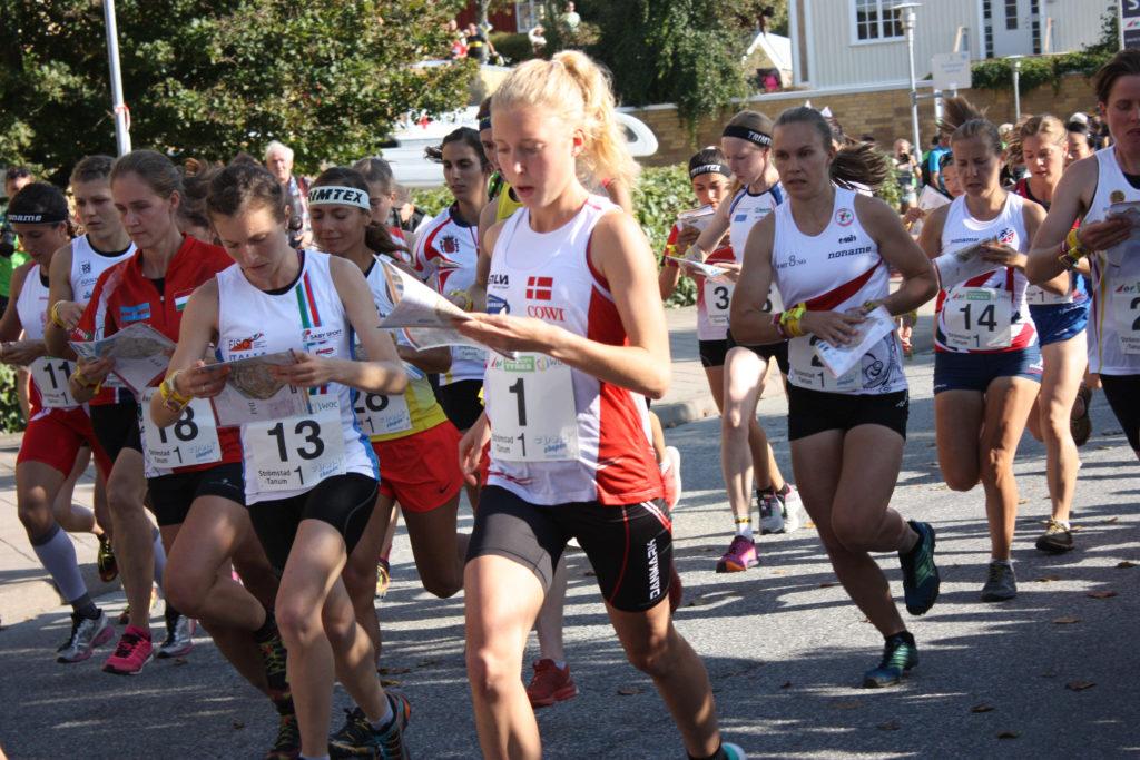 VM Strömstad_Sprintstafet_Cecilie Klysner